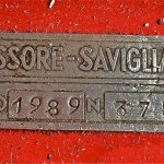 Fissore Millespecial Type - serial number