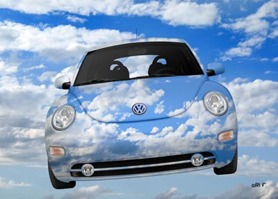 VW New Beetle Cloud Edition