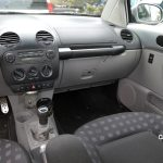 VW New Beetle Interieur in grau