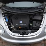 VW New Beetle Motorraum 1.8 turbo mit 110 kW (150 PS)
