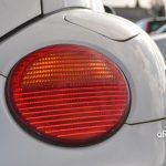 VW New Beetle mit runder Beleuchtungsanlage hinten