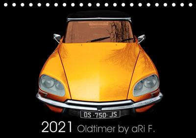 2021 Oldtimer Kalender by aRi F.