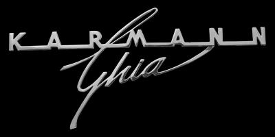 Logo Karmann Ghia Typ 14 (1955-1974)