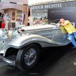 Mercedes-Benz 540 K Spezial Roadster auf der Motorworld Classics Bodensee