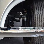 Mercedes-Benz 540 K mit Blick auf die Schraubenspindellenkung