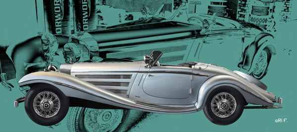 Mercedes-Benz W 29 Spezial Roadster in Originalfarbe