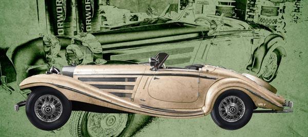 Mercedes-Benz W 29 Typ 540 K Spezial Roadster Poster