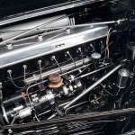 Mercedes-Benz 540 K Spezial Roadster mit 8-Zylinder-Reihenmotor (Viertakt), vorne längs Foto: BelleDeesse