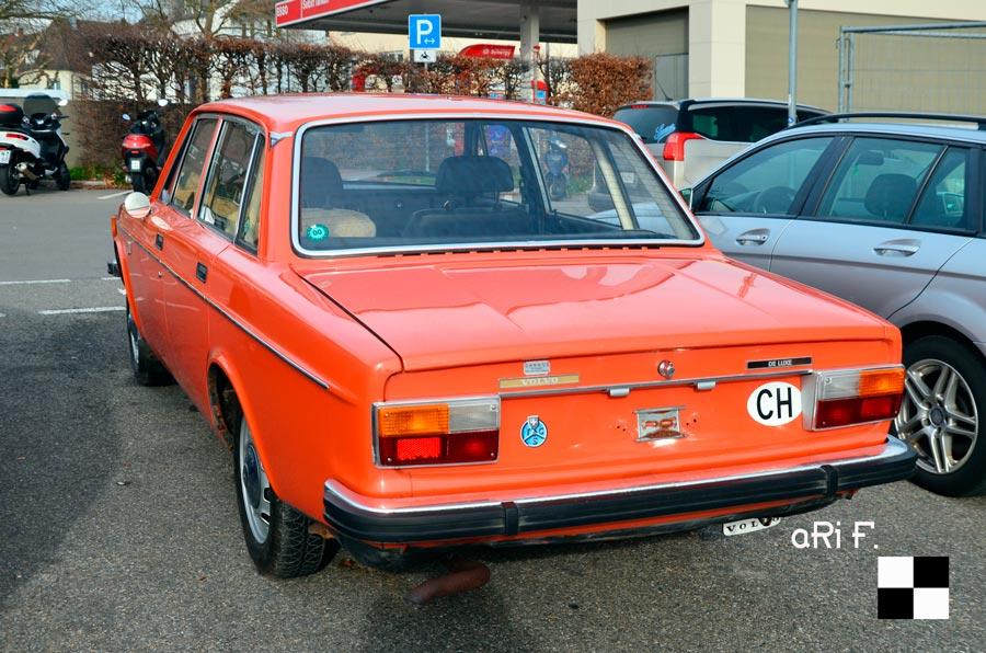 Volvo 144 Heckansicht / rear view