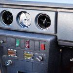 Volvo 144 Mittelkonsole Heizungsregler und verstellbar runden Lüftungsdüsen