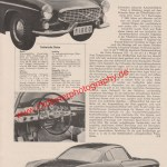 Volvo P1800 Bericht - Volvo Werbung von 1960