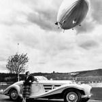 Werbung für den Mercedes-Benz 540 K Spezial Roadster von 1936. Foto Auto-Medienportal.Net