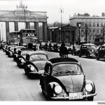 1938: The first Beetles of the preproduction series VW 38