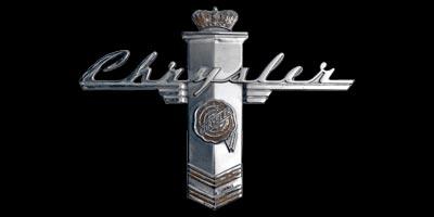 Logo Chrysler New Yorker, Baujahr 1940