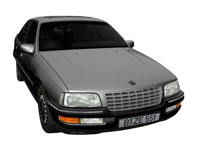 Opel Senator B Poster in Originalfarbe