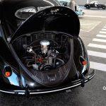 VW Ur-Käfer von 1949 mit geöffneter Motorhaube
