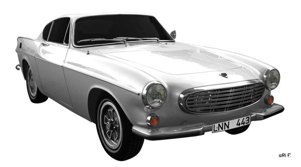 Volvo P1800 in Originalfarbe