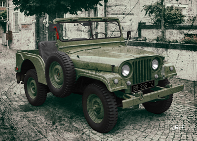 Willys Jeep M 38 A1 Poster