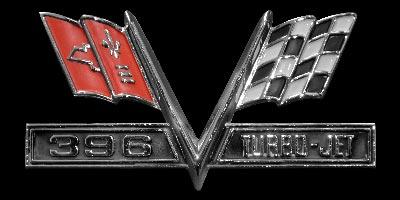 Logo Cadillac Chevelle SS 396 Turbo-Jet (1967)