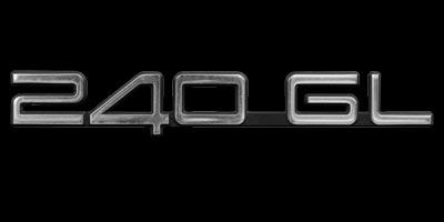 Logo Volvo 240 GL