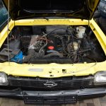 Opel Kadett C GT/E Rallye Coupe Motorraum