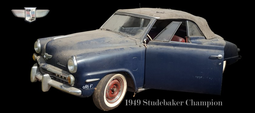 Studebaker Champion Convertible Poster (1947–1952)