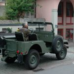 Willys Jeep M38 A1 rear view