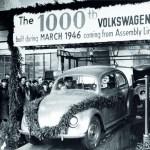 VW feierte 1946 den 1000sten Käfer. Foto: Auto-Medienportal.Net/Volkswagen