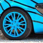 Lotus Elise S2 Umbau zu Lotus Exige mit Ansicht Felgen hinten