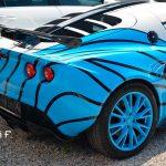 Lotus Elise S2 Umbau zu Lotus Exige rear view
