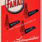 FANAL Mineralöle Werbung 1955