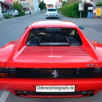 Ferrari Testarossa rear view