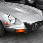 Jaguar E-Type Serie III in silbermetallic