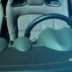 Lotus Elise S2 Interieur Teilansicht von aussen