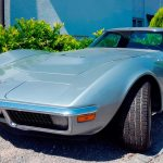 Chevrolet Corvette C3 in light blue metalic