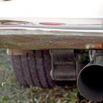 Datsun Sports 1600 mit einem konischen Auspuffrohr