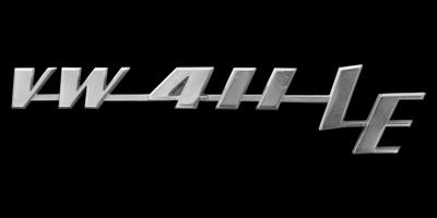 Logo VW 411 LE Typ 4