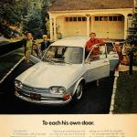 1972 VW 411 advertising