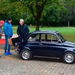 Fiat 500 Benzingespräche im kleinen Kreis...