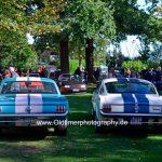 Ford Mustang mit Mr. Horsepower und G.T. 350 bei der 7. Kressbronn Classics
