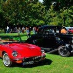 Jaguar Series III und Ford V8 Modell 68 (1935–1936) und Gesamtsieger der 15. Rallye Monte Carlo in 1935