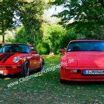 Porsche 911 G-Modell und Porsche 944 bei der Kressbronn Classics