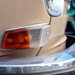 VW 411 Frontdetailansicht mit Blinker vorne