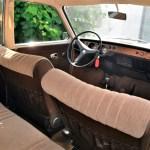 VW 411 Interieur mit Stoffsitzen Kopfstützen gab es als Zusatzausstattung