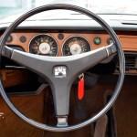 VW 411 Lenkrad und Armaturentafel