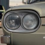 VW 411 mit Doppelscheinwerfern im ovalen Scheinwerferhalter