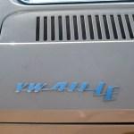 VW 411 mit Logo VW 411 LE auf Motorhaube hinten
