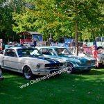 Zwei Ford Mustang bei der Kressbronn Classics