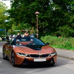 BMW i8 in E-Copper metallic front view