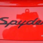 Logo Porsche Boxster Spyder Typ 987